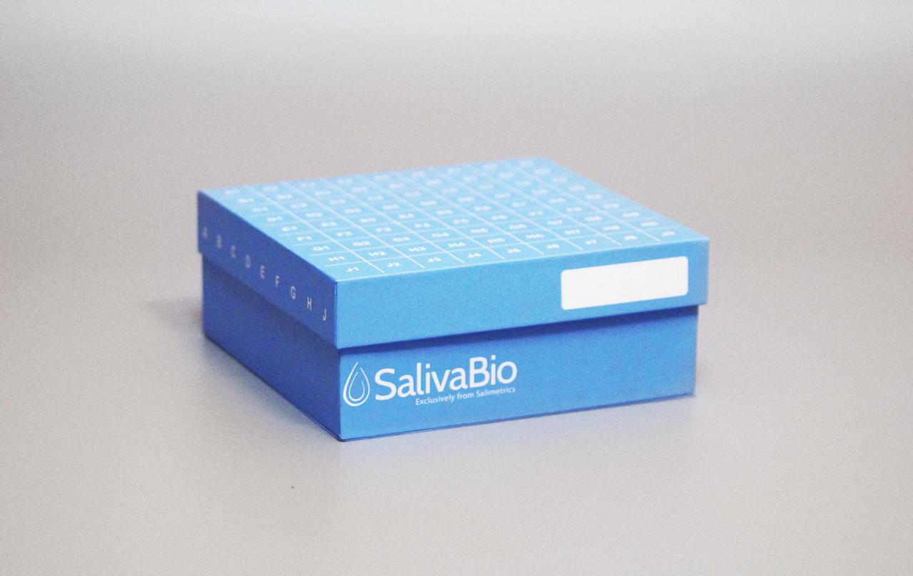 Saliva Sample Cryostorage Box