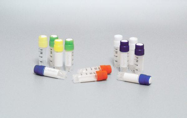 Cryovials for Saliva Sample Storage